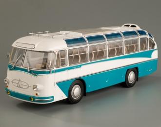 ЛАЗ 697Е Турист (1961-1963), бирюзово-белый