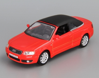 AUDI A4 Cabriolet Soft Top, red