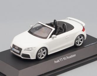 AUDI TT RS Roadster (2009), white