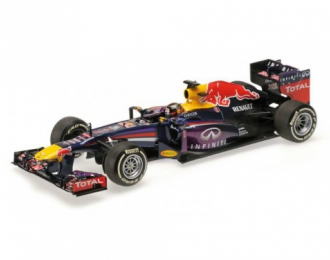 INFINITI RED BULL RACING RENAULT RB9 SEBASTIAN VETTEL WINNER INDIAN GP WORLD CHAMPION 2013