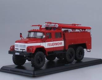 АЦ-40 (ЗИЛ 131)-137 Freiwilige Feuerwehr Treuen, красный