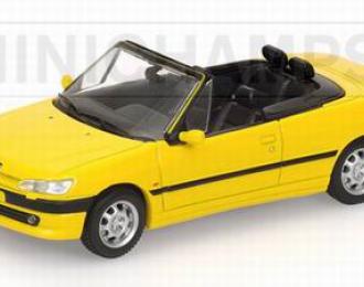 PEUGEOT 306 Cabriolet (1998), jaune