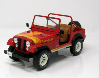 JEEP CJ-7 Renegade 4х4 1976 Red