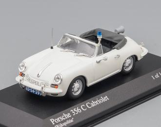 PORSCHE 356C Cabriolet «RIJKSPOLITIE», white