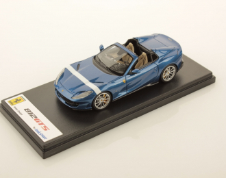 Ferrari 812 GTS (Blu Elettrico with White Livery)