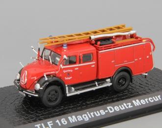 Magirus-Deutz Mercur TLF 16, red