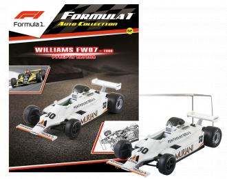 WILLIAMS FW07 Руперта Кигана (1980), Formula 1 Auto Collection 62