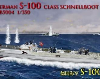 Сборная модель German S-100 Class Schnellboot