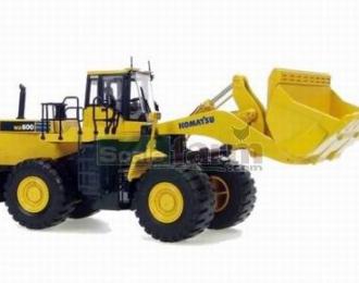 KOMATSU  WA 600 (карьерный погрузчик) 2008, yellow