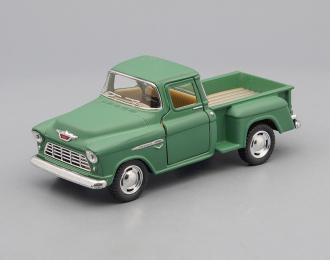 CHEVROLET Stepside Pick-up (1955), matte green