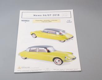 Каталог Norev News 06/07 2018