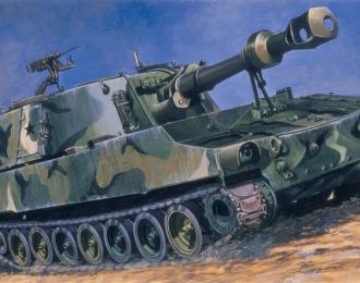 Сборная модель Самоходное артиллерийское орудие M-109G