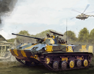 Сборная модель Russian BMD-3 Airborne Fighting Vehicle