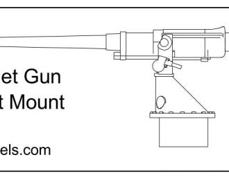 Набор для доработки 3-дм. орудия Кане 12 шт.