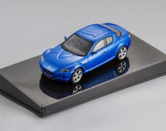 (Уценка!) MAZDA RX-8 (2003), blue metallic