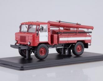 АЦ-30 (66), красный с белыми полосами