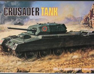 Сборная модель Британский танк Crusader Tank