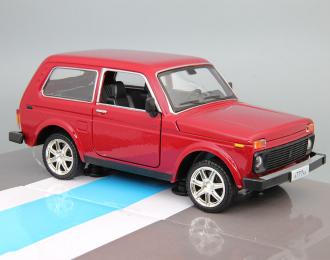 ВАЗ 21214, бордовый