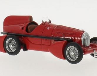 ALFA ROMEO P3 Tipo B Aerodinamica 1934 Red