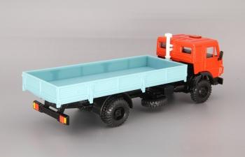 КАМАЗ 5325 без тента, красный