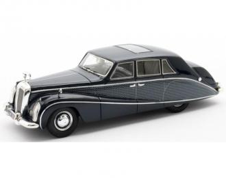 DAIMLER DK400 Limousine Stardust Lady Docker Hooper (1954), blue