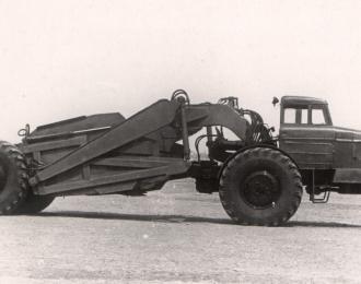 Сборная модель Скрепер Д-357 на базе МАЗ-529