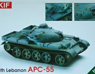 Сборная модель Южно-ливанский БТР на шасси среднего танка Т-55