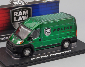 """RAM ProMaster 2500 Cargo High Roof """"Ram Law Enforcement Police Transport Vehicle"""" 2018 (Greenlight!)"""