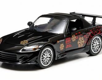 """HONDA S2000 из к/ф """"Двойной Форсаж"""" (2002), black"""