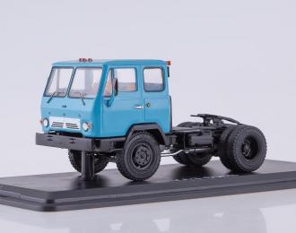 КАЗ 608В седельный тягач, голубой