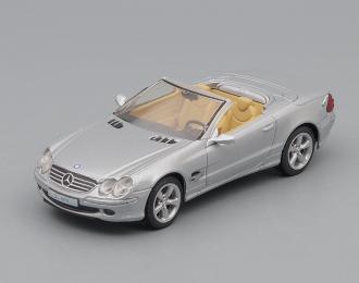 MERCEDES-BENZ SL600, Суперкары 76, silver