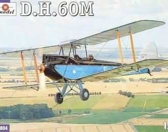 Сборная модель Британский учебно-тренировочный самолет De Havilland DH.60M Moth