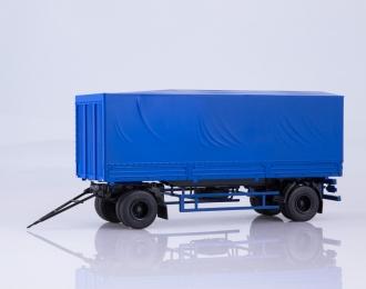 Прицеп МАЗ-83781 с тентом, синий
