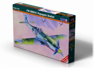 Сборная модель Самолет FW 190D-9 Papage Slaffein