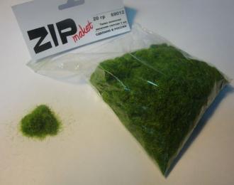 Трава зеленая весенняя светлая 3 мм