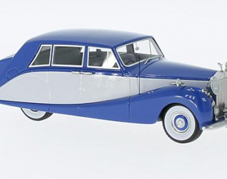 ROLLS ROYCE Silver Wraith Hooper Empress Line 1956 Blue/Grey
