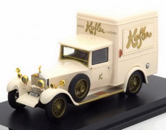 "(Уценка!) ROLLS ROYCE Twenty Park Ward Delivery Van ""Kofler Lucerne"" 1928 White"