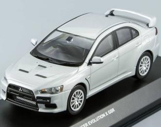 MITSUBISHI Lancer Evo X GSR, cool silver metallic