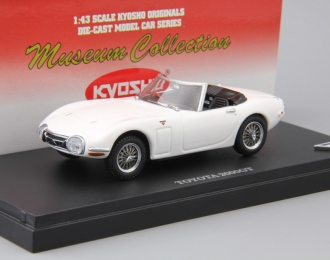TOYOTA 2000GT Open Car, white