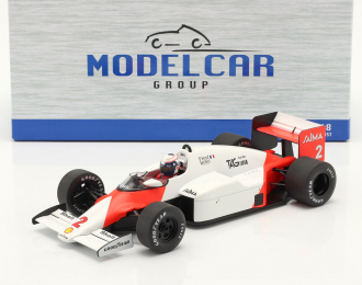 "McLaren Day MP4/2B #2 ""Marlboro"" A.Prost Formula 1 GP Monaco with Decals (1985)"