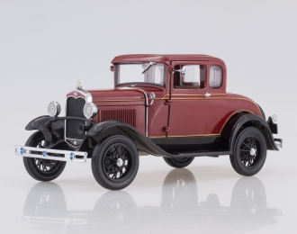 FORD Model A Coupe (1931), rubelite red