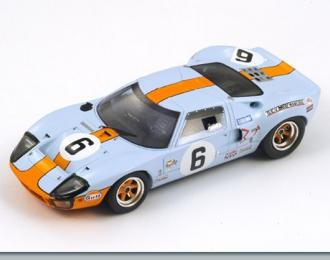 FORD GT 40 6 Победитель LM 1969 J. Ickx - J. Oliver, blue