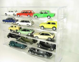 Стеллаж для моделей Автолегенды СССР и Автомобиль на службе