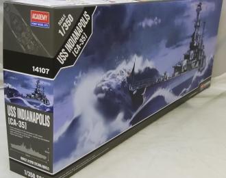Сборная модель Корабль USS CA-35 INDIANAPOLIS