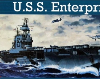 Сборная модель Американский авианосец USS Enterprise