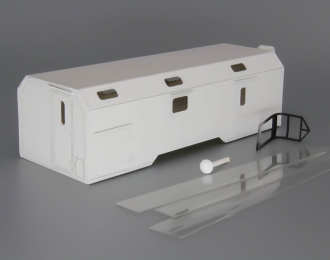 Надстройка Командный пункт МЧС на базе Камский грузовик, белый