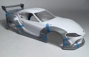Аэродинамический обвес A90 Pandem для TOYOTA Supra (Tamiya)
