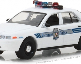 "FORD Crown Victoria Police Interceptor ""Baltimore Maryland Police Department"" 2008"