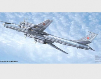 Сборная модель Советский / российский дальний противолодочный самолет Ту-142МР