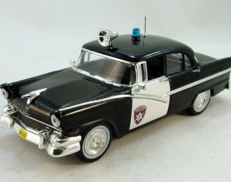 FORD Fairline Полиция Детройта (1956), Полицейские Машины Мира 1, черный